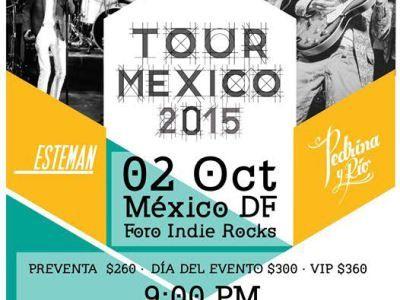 Pedrina y Río en el Foro INDIE ROCKS