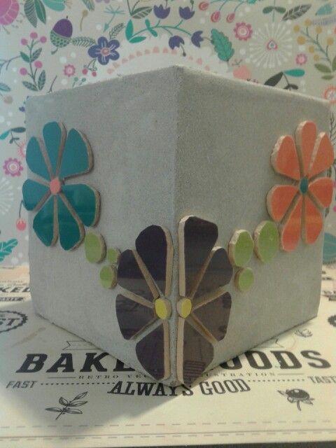 Cubo de fibrocemento 15x15