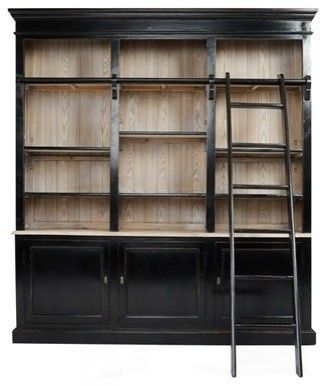 Ladder recycled wood and cabinets on pinterest for Bathroom cabinets urban ladder