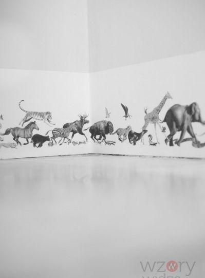 Border Animals Pencil on Bone
