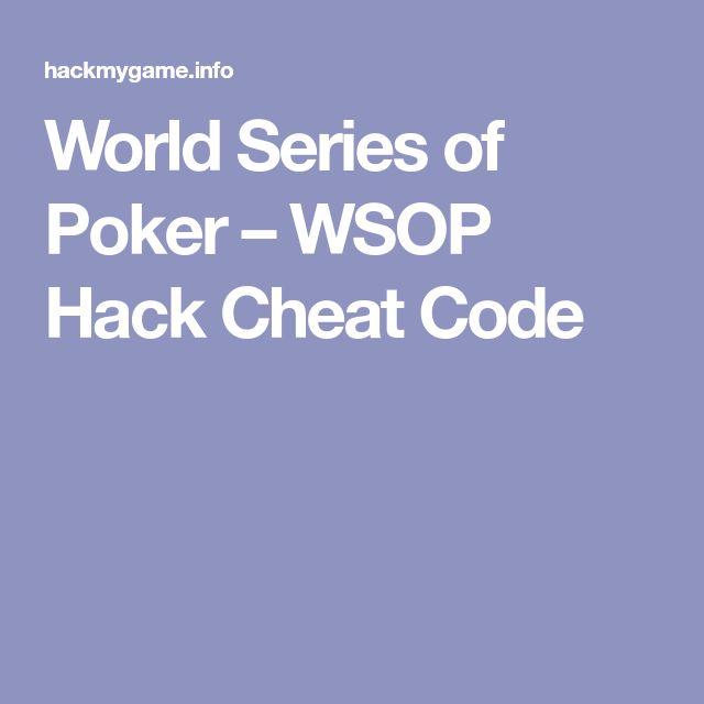 World Series of Poker – WSOP Hack Cheat Code