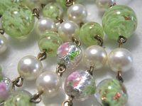 Vintage Jewelry Venetian glass beads Murano glass beads