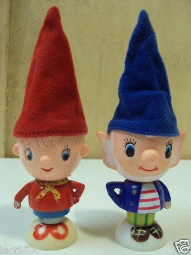 Noddy BIG Ears 1960S Original EGG Cups With Original Hats Noddy Toys | eBay