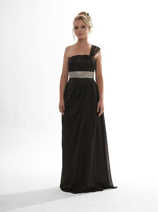 Grecian style bridesmaid dress or ball gown. Locally designed in Perth. Metallic Teneil $339