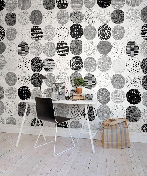 Hey, look at this wallpaper from Rebel Walls, Surface Dots! #rebelwalls #wallpaper #wallmurals