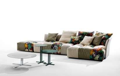 Rinnovare divano fai da te - Tessuto patchwork