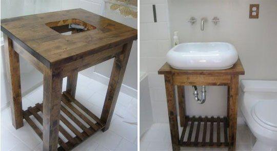DIY łazienka szafka pod zlew - Szukaj w Google