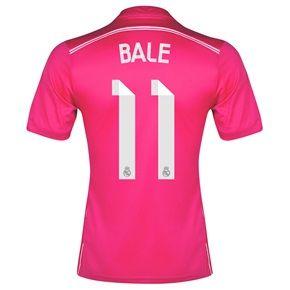 Real Madrid Away Shirt 2014/15 with Bale 11 printing