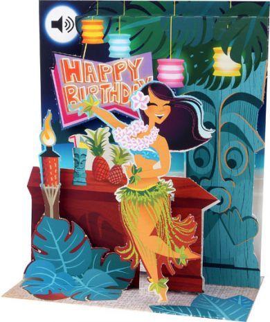 Up With Paper :: SS060 Hula Tiki