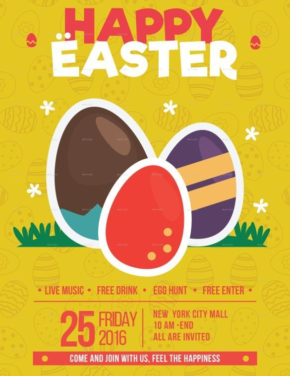 27 Easter Flyer Free Psd Ai Vector Eps Format Download Free