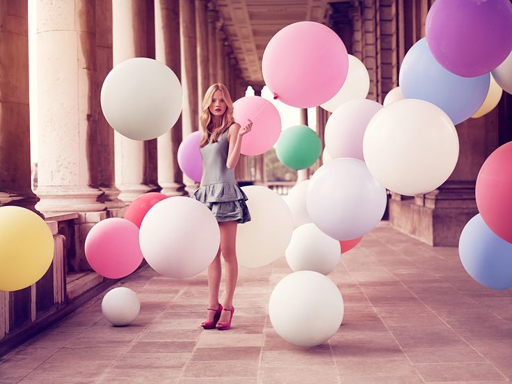 Alek flying up with balloons by Luis Monteiro for Tatler UK 10