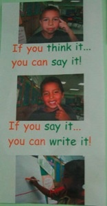 Great for Literacy Working Wall