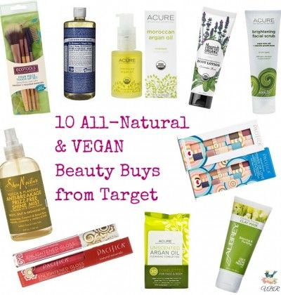 10 All-Natural and #VEGAN beauty products from Target