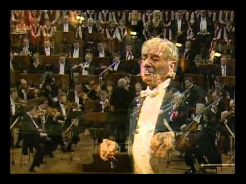 The Berlin Celebration Concert - Beethoven, Symphony No 9 Bernstein 1989. This one gets me weepy before the music even starts.