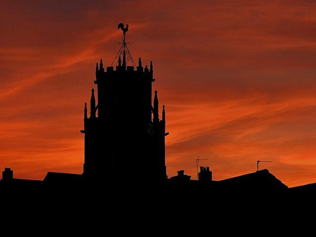 Sunset Colyton Devon