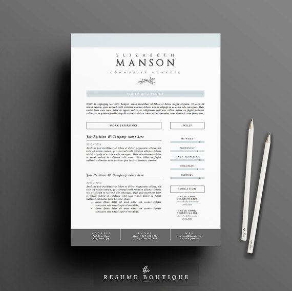 22 best resume cv templates images on pinterest resume cv