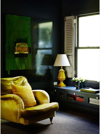 25 best ideas about dark green walls on pinterest dark for Living room ideas mustard