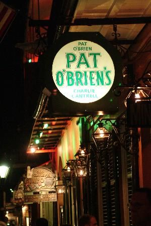 pat obriens new orleans. Try a classic Hurricane!