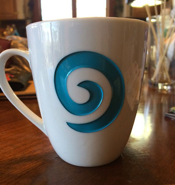 World of Warcraft inspired - Engraved Hearthstone Coffee cup - Back in Stock - Limited Quantity 10 oz mug