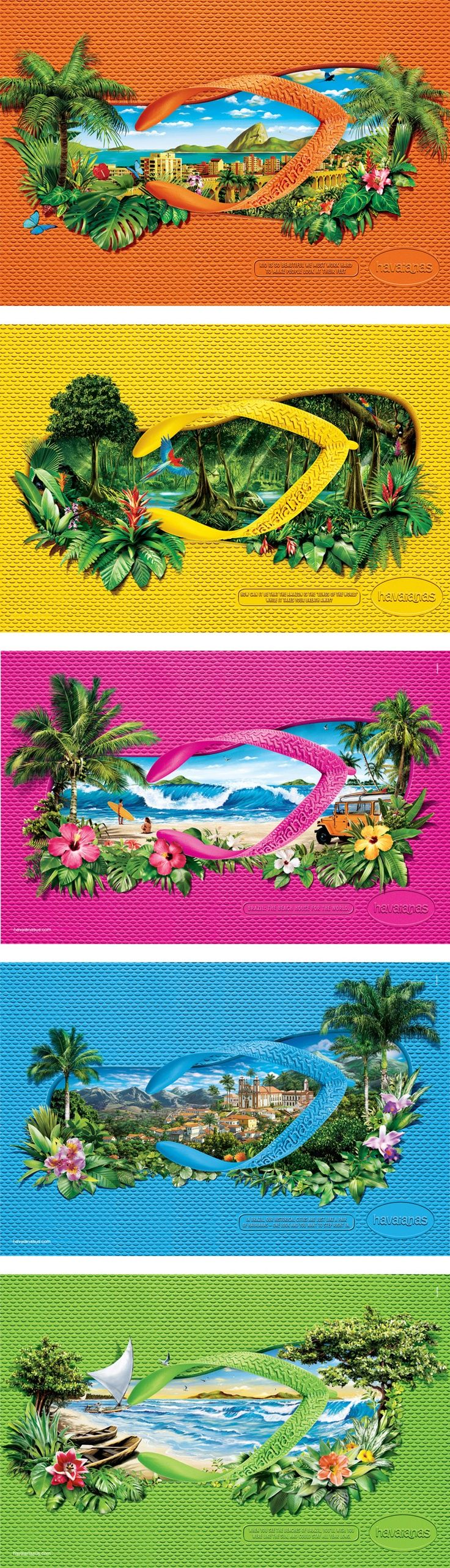 No matter where you go, there will always be a perfect pair of Havaianas for you.