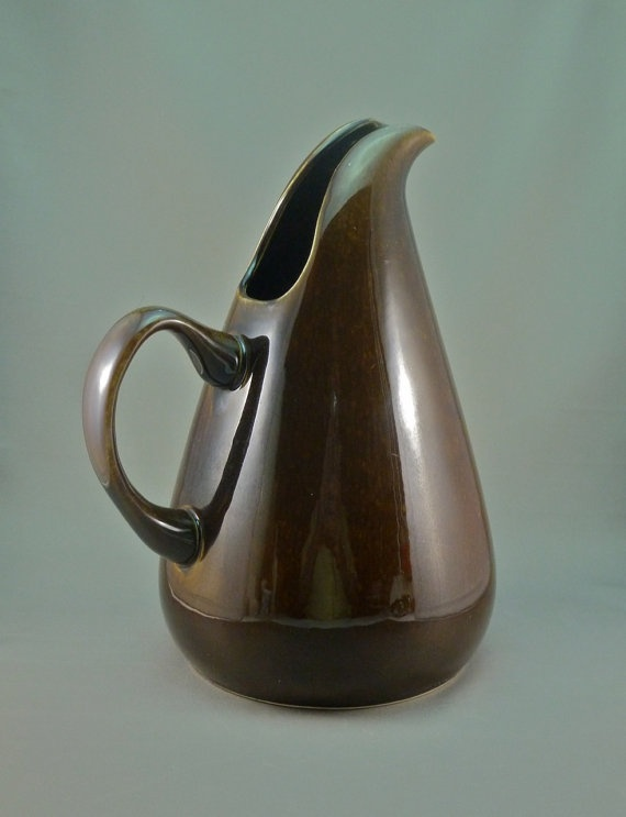Russel wright american modern tall water jug aka pitcher water jugs modern and water - Russel wright pitcher ...