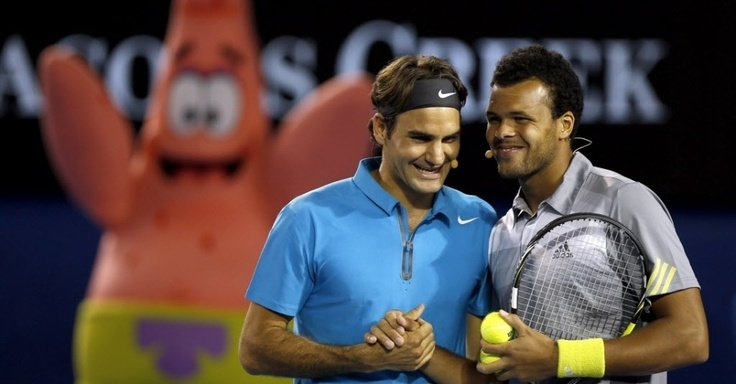 Federer e Bob Esponja comandam festa do Aberto da Austrália: Fotos e imagens - UOL Esporte