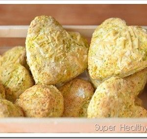 Broccoli and Carrot Biscuits