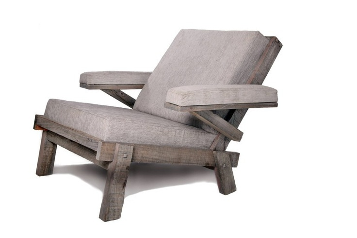 comfy chair. Drift Furniture: A contemporary take on the traditional South African 'stoep'  chair.