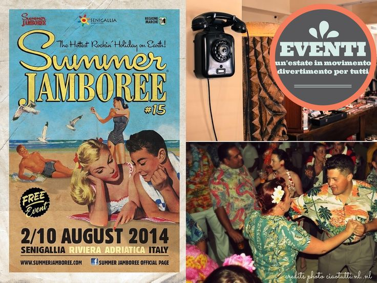 Reason #7 why you should fall in love with Senigallia... a great festival #summerjamboree