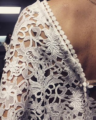 **wedding dress in progress**  #karavan #karavanclothing #karavangirl #karavantailormade #weddinggown #openback #maxidress #tailormade #weddingdress #lace #silk #bridal #bride #weddingday #handmade #greekdesigners #greek #greece #traditional #bohemian #traveler #wanderer #romantic #love