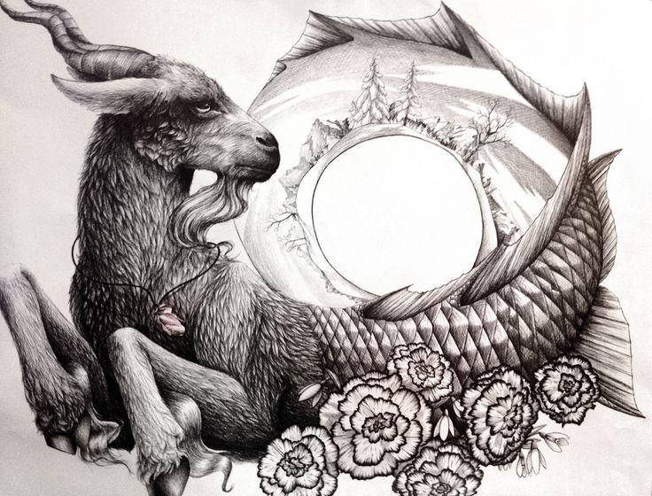 Capricorn by RiverSpirit456.deviantart.com on @DeviantArt