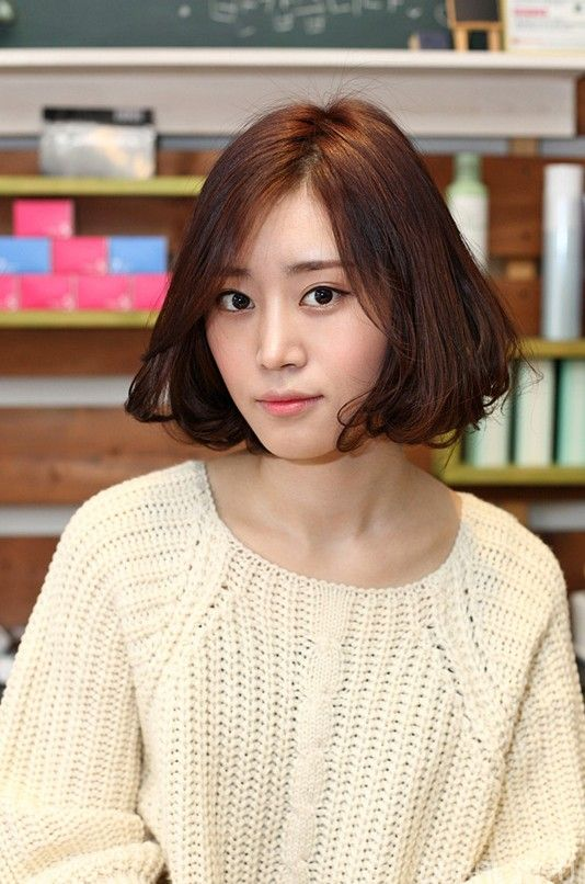Bob Hairstyles Korean