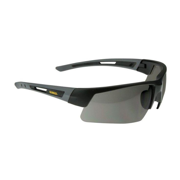 Dewalt crosscut smoke lens safety glassdpg1002c safety