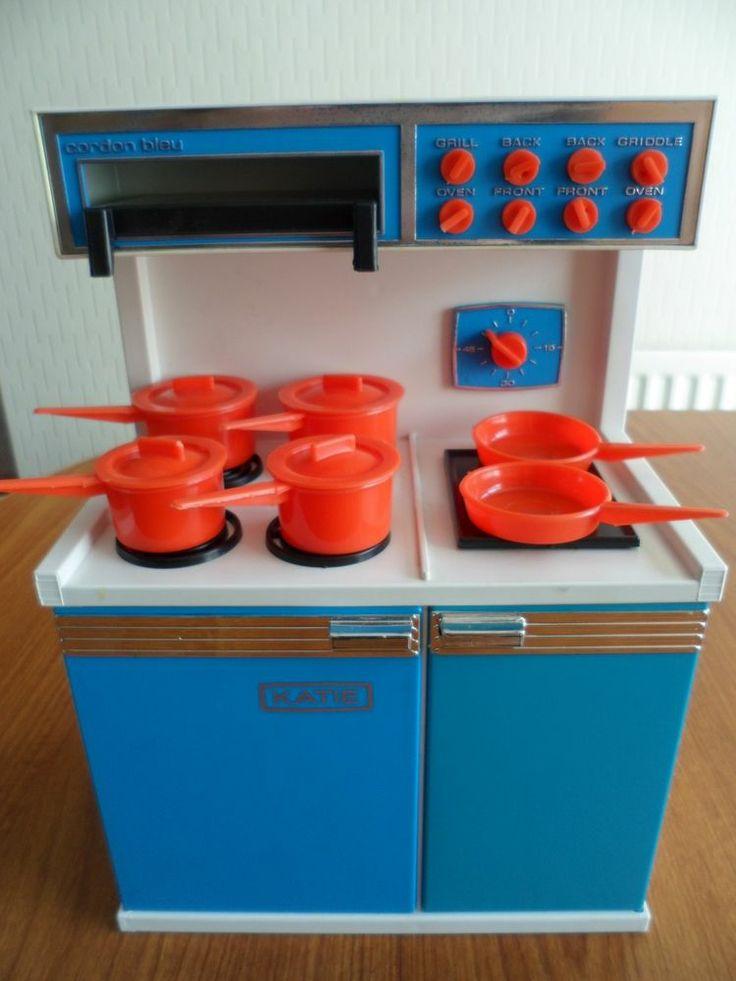 Childrens 1960's Toy KATIE Cordon Bleu Cooker