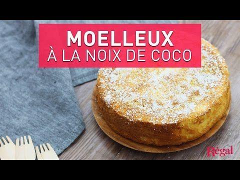 Gâteau moelleux à la noix de coco - Régal