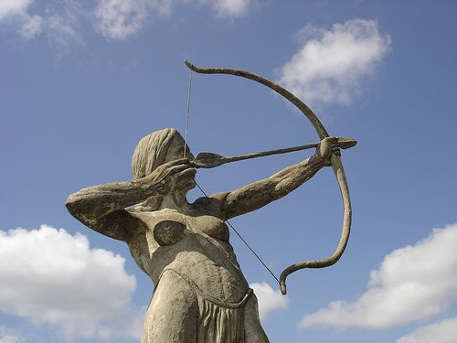 Call For Submissions: Furies Poetry Anthology (Photo: Amazon-Archer-Statue)