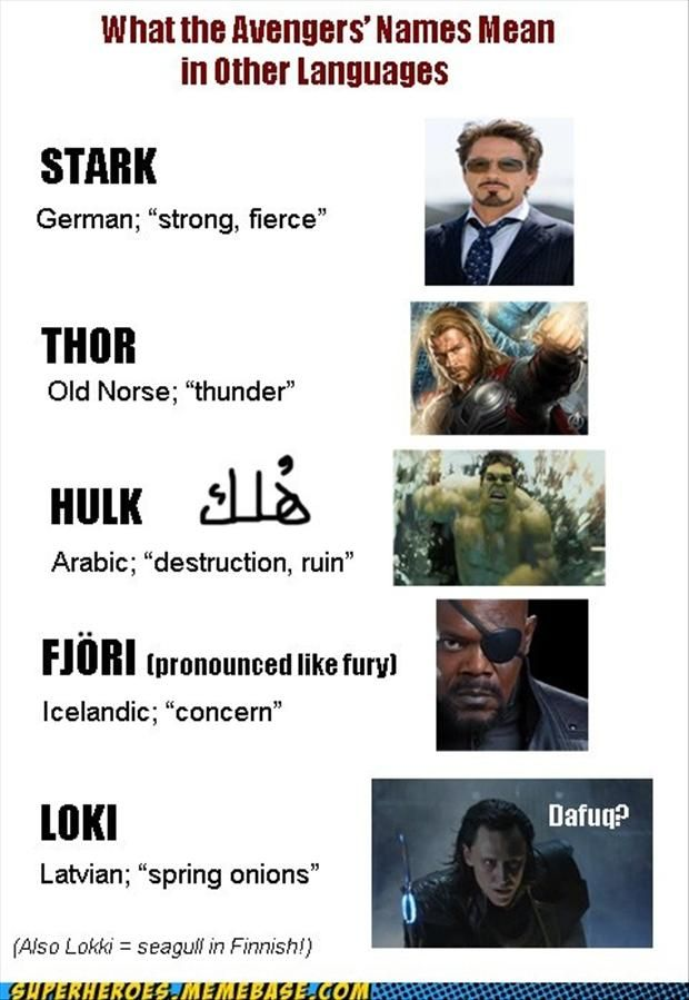 Okay, seriously, dafuq is that? WTH is up with Loki's name? I'm researching this.