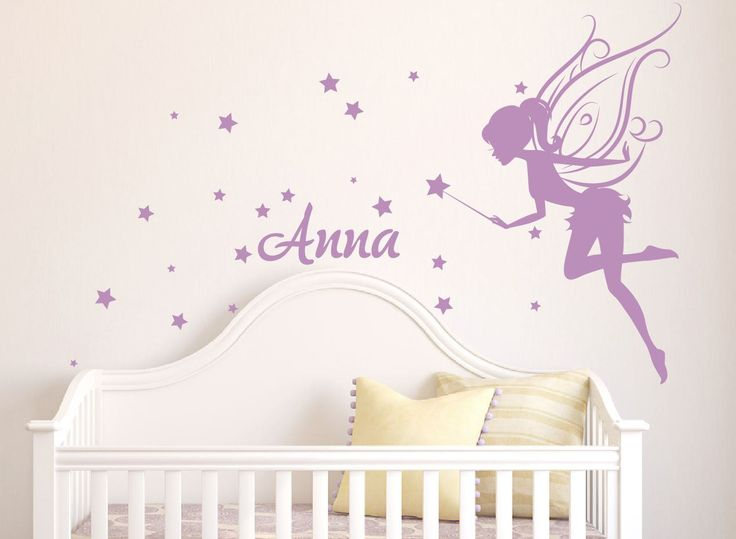 Fairy Wall Decal, girl name wall decal, fairy wall decals ...