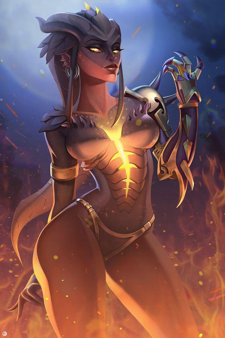 ArtStation - Dragon Terror, Emily Cheng
