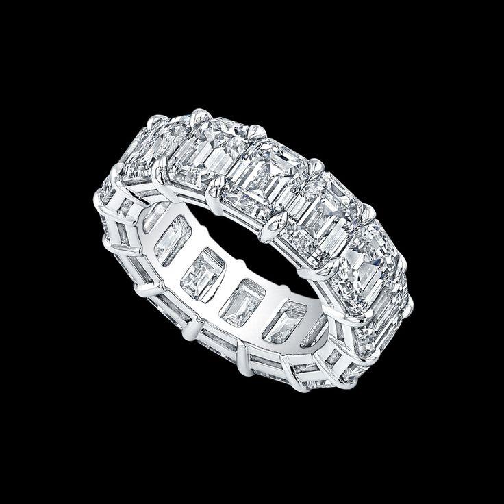 56 best Diamond eternity bands images on Pinterest Rings Diamond