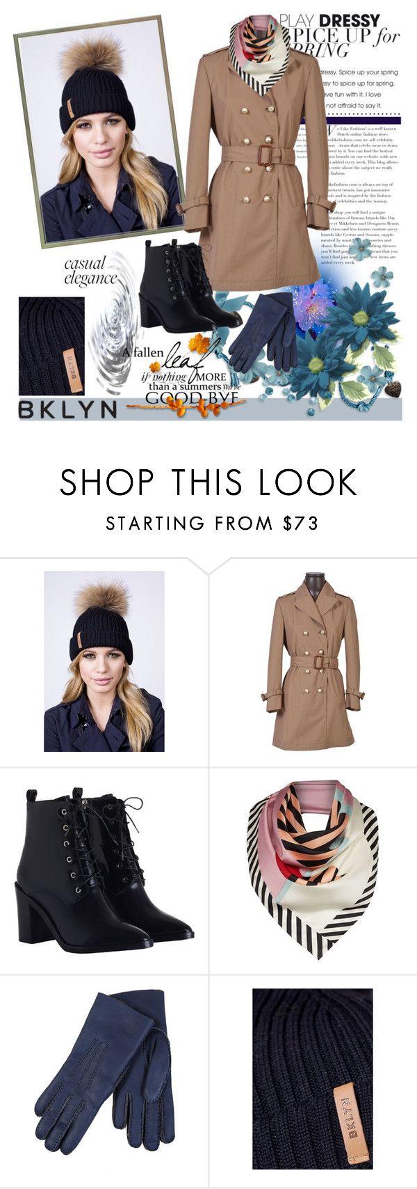 """BKLYN Black Bobble Hat"" by irinavsl ❤ liked on Polyvore featuring Gucci, Zimmermann, Lulu Guinness, Restelli and bklyn"