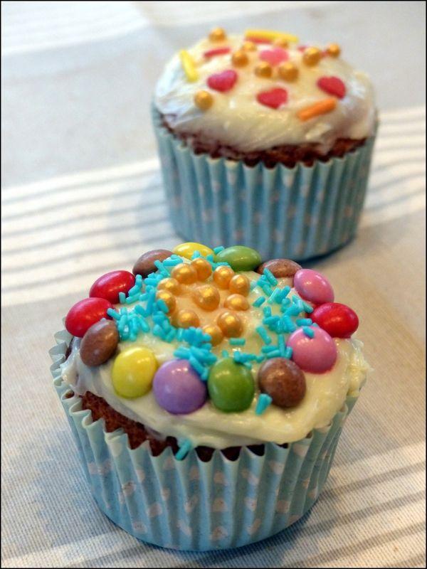 Atelier patisserie avec les enfants : les cupcakes