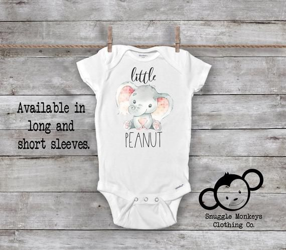 Baby Romper Im Going to Love Elephants When I Grow Up Just Like My Great-Grandpa