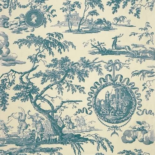 17 best images about toile on pinterest toile curtains french and cream - Rideaux toile de jouy ...