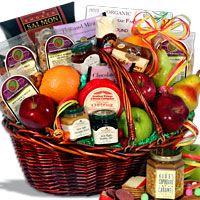 Bountiful Harvest™ - Fruit Gift Basket (4407)