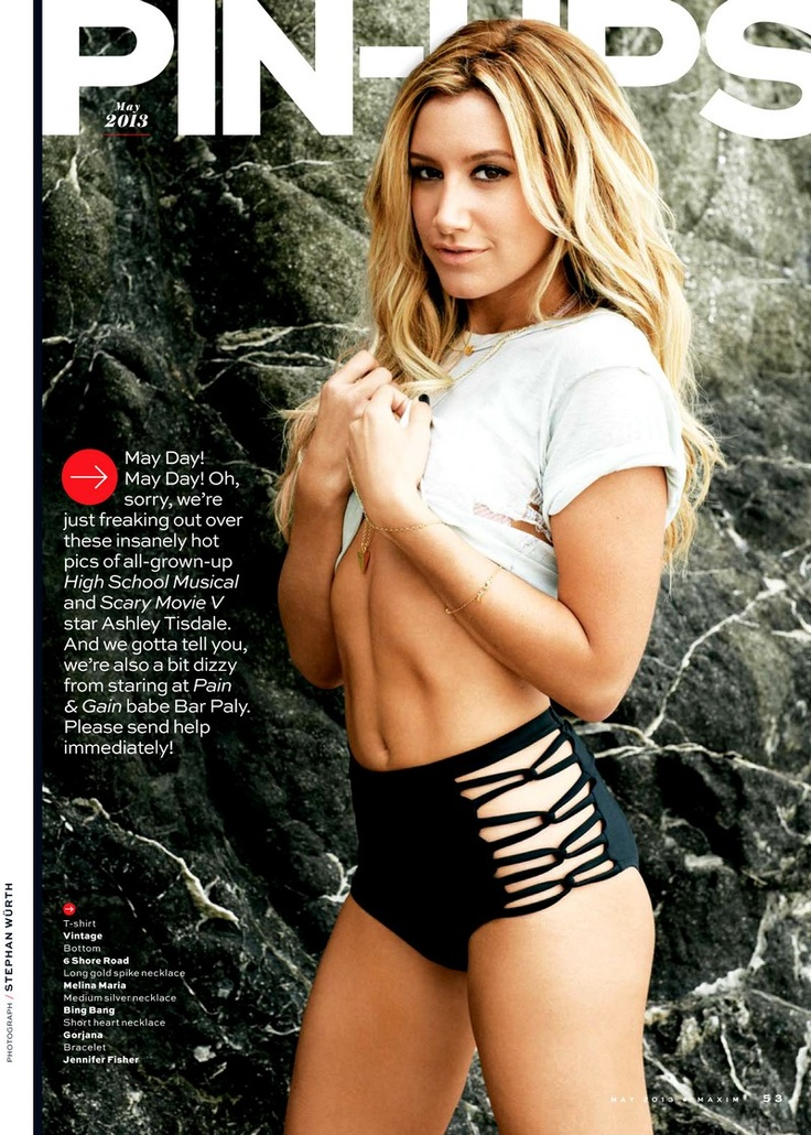 Ashley Tisdale - Maxim May 2013 My inspiration will have her body !