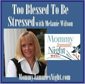 If you're stressed out, you don't need to hear one more thing you need to do to manage it. Dr. Melanie Wilson isn't going to share the basic advice we've all heard: get enough sleep, exercise, and good nutrition. Instead, she will share a whole new way of thinking about stress that will have you feeling too blessed to be stressed.