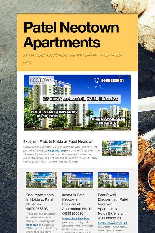 Patel Neotown Apartments