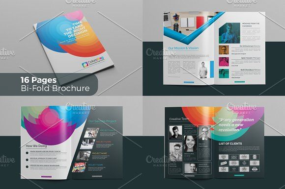 55 Best Multi Pages Brochure Template Images By Mohammad Rasel On