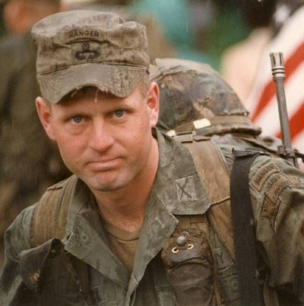 theonus:  A Ranger in Grenada during Operation Urgent Fury.